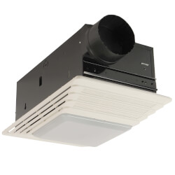 "655 Heater, Fan & Light Combo - 4"" Round Duct<br>(70 CFM) Product Image"
