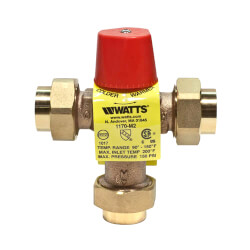 "1/2"" LF1170M2-UT Lead Free Mixing Valve (Copper Press) Product Image"