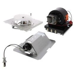 Finish Pack<br>(Heater, Fan, Light, Grille)<br>70 CFM Product Image