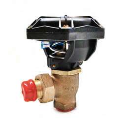 "1"" Powertop Two-Way Flared Angle Valve, N/O (10 CV) Product Image"