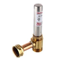 "3/4"" Female Swivel x 3/4"" Male Hose Mini-Rester Water Hammer Arrestor Product Image"