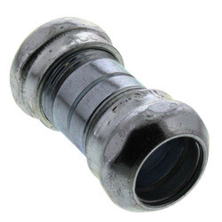 "1"" Steel EMT Compression Coupling Product Image"
