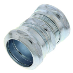 "3/4"" Steel EMT Compression Coupling Product Image"