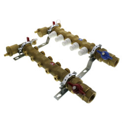 "1-1/4"" Manifold w/ Shut-Off Valves (6 Outlets) Product Image"