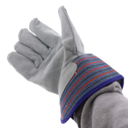 Split Palm Leather Gloves - One Size Fits Most (Pair) Product Image