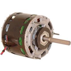 2-Spd Single Shaft Open Fan/Blower Motor (115V, 1050 RPM, 1/5, 1/8 HP) Product Image