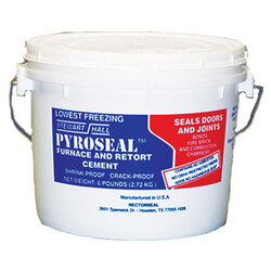 1-1/2 lb. Pyroseal Furnace and Retort Cement Product Image