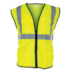 Class 2 Surveyor's Safety Vest - XL (Yellow) Product Image