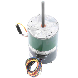 """6"""" 2 Speed Condenser Fan Motor, 1/3 HP, 1100/850 RPM (460V) Product Image"""