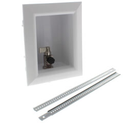 "Ox Box Ice Maker Outlet Box Standard Pack <br>No Lead (1/2"" PEX Crimp) Product Image"