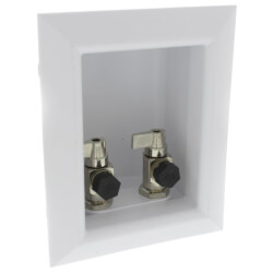 "Ox Box Lavatory Outlet Box 1/2"" PEX Crimp (Lead Free) Product Image"