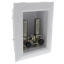 "Ox Box Lavatory Outlet w/<br>Water Hammer Arrestor<br>1/2"" PEX Crimp (Lead Free) Product Image"