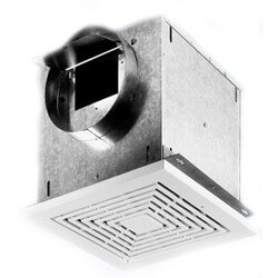 "CEV Series Ceiling<br>Exhaust Ventilator,<br>Round 8"" Duct (200 CFM) Product Image"