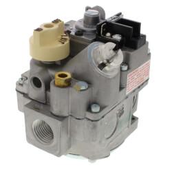 "1/2"" X 3/4"" Combo Gas Valve, 1/2"" Side w/ Plugs (240,000 BTU) Product Image"