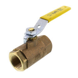 "3/4"" Standard Port Threaded Ball Valve (30 Cv) Product Image"