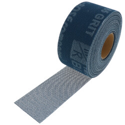 "Blue Monster 2"" x 10 yds. Aluminum Oxide Open Mesh Abrasive Product Image"