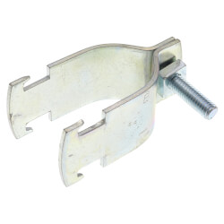 """1-1/2"""" Electro-Galvanized Universal Pipe Clamp Product Image"""