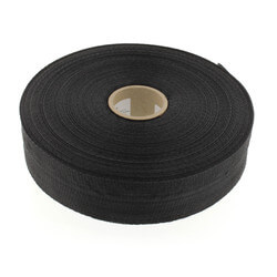 "1-3/4"" x 100 Ft. Black Woven Duct Strap Product Image"