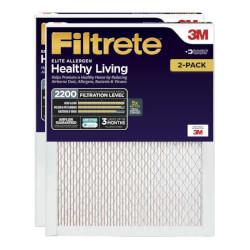 "14"" x 25"" x 1"" Filtrete Elite Allergen Reduction Filter, 2200 MPR - 2 Pack (EA04-2PK-6E) Product Image"