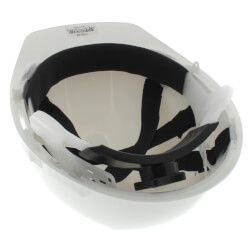 Hard Hat w/ Adjustable 6 Point Rachet (White) Product Image