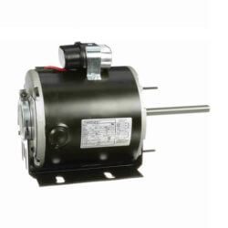 1/6 HP 115/208-230v Unit Heater Motor, 1140 RPM, F48Y Frame, TEAO Product Image