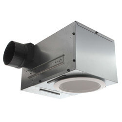 "Model 744 Recessed Fan w/ Light, 4"" Round Duct<br>(70 CFM) Product Image"