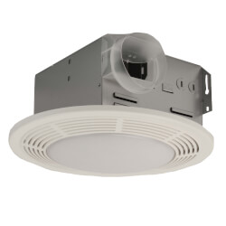 "750 Vent Fan w/ Light & Night Light, 4"" Round Duct 100 CFM Product Image"
