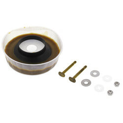 Toilet Wax Ring w/ Flange and Bolts Product Image