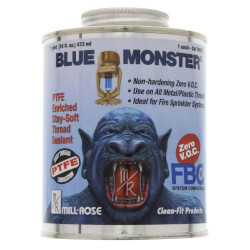 Blue Monster Stay-Soft Thread Sealant w/ PTFE (16 oz.) Product Image