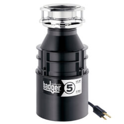 Badger 5 Garbage Disposal w/ Power Cord Product Image