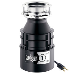 Badger 1 Garbage Disposal w/ Power Cord Product Image