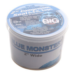 """Blue Monster """"BIG"""" LLFA Compression Seal Tape (12 ft x 2"""" Roll) Product Image"""