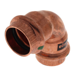 "3/4"" Propress Copper<br>90 Elbow Product Image"