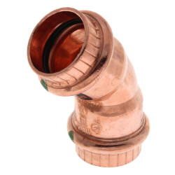 """3/4"""" Propress Copper<br>45 Elbow Product Image"""