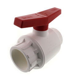 "3"" 770 PVC Ball Valve Threaded Ends Product Image"