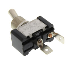 On-Off SPST Toggle Switch with Spade Term. & Face-plate (125/250V) Product Image