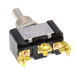 On-Off-On SPDT Toggle Switch with Screw Termination (125/250V) Product Image