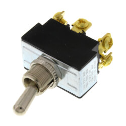 On-Off-On DPDT Heavy Duty Toggle Switch w/ Screw Termination Product Image