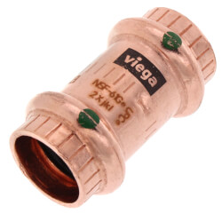 """1/2"""" ProPress Copper Coupling w/ Stop Product Image"""