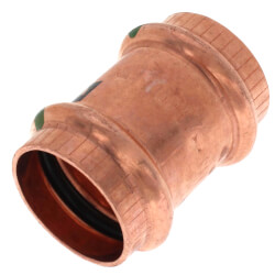 """1"""" ProPress Copper Coupling w/ Stop Product Image"""
