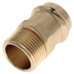 """1"""" ProPress x Male Bronze Adapter (Lead Free) Product Image"""