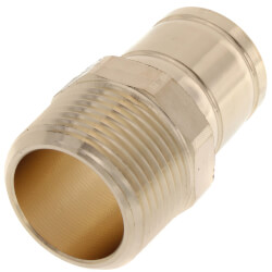 "1"" ProPress FTG x Male Street Bronze Adapter (Lead Free) Product Image"
