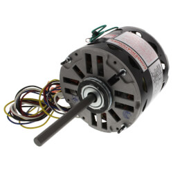 "5-5/8"" PSC Motor, 1/2 - 1/6 HP, 1075 RPM, Reversible (277V) Product Image"