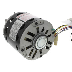 "5-5/8"" PSC Motor, 3/4 - 1/5 HP, 1075 RPM, Reversible (277V) Product Image"