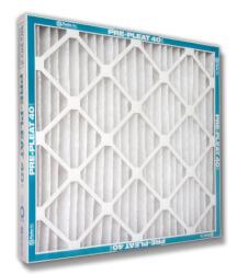 "16"" x 20"" x 1"" Prepleat 40 LPD Standard Capacity Pleated Filter, MERV 8 Product Image"
