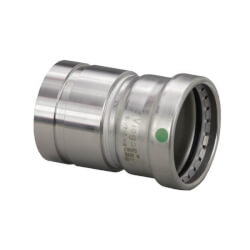 """2-1/2"""" Groove IPS x 2-1/2"""" Press ProPress 316 Stainless Steel XL Adapter Product Image"""