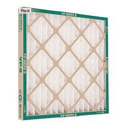 """16"""" x 20"""" x 1"""" VP Extended Surface Pleated Filter, MERV 8 Product Image"""