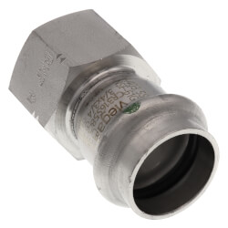 "3/4"" Female ProPress 316 Stainless Steel Adapter Product Image"