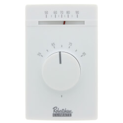 Line Voltage Thermostat, SPST, 25 Amp (Heating) Product Image