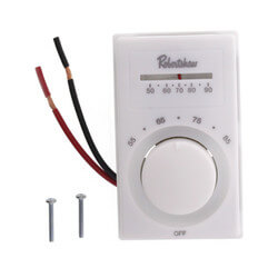 Line Voltage Thermostat SPST (Heating) Product Image